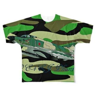 NOMAD-LAB The shopの RF-4EJ phantom Full graphic T-shirts