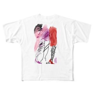 レッグス Full graphic T-shirts