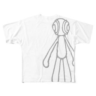 グリグリくん Full graphic T-shirts