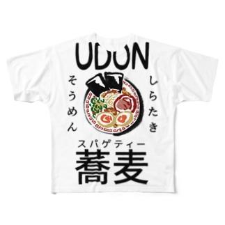 麺類 Full graphic T-shirts