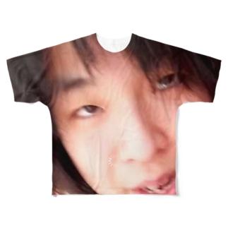 伝説のおばさんグッズ1 Full graphic T-shirts