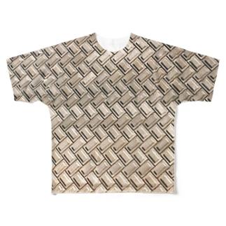 土手 Full graphic T-shirts