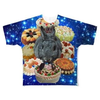 銀河栄光伝説 もずく軍 Full graphic T-shirts