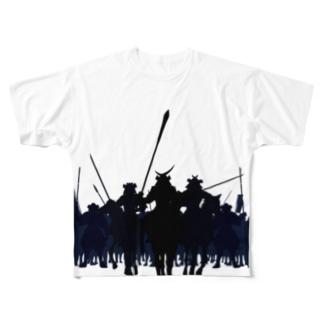 samurai7のいざ合戦 Full graphic T-shirts