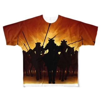 黄昏時の合戦 Full Graphic T-Shirt