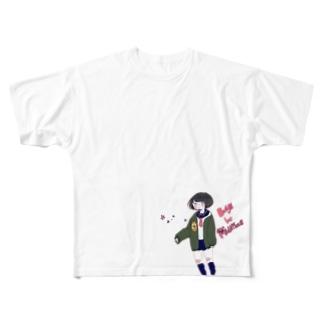 アンビシャス Full graphic T-shirts