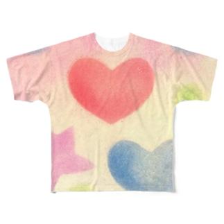 おもちゃ箱 Full graphic T-shirts