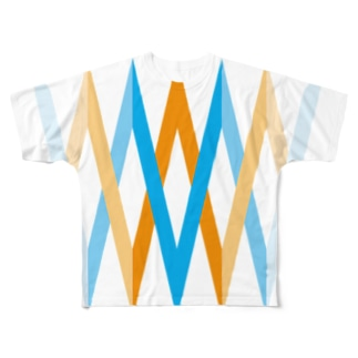 summer fitness Full graphic T-shirts