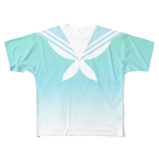 夏色セーラー服 Full graphic T-shirts