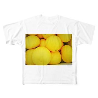 文旦の箱詰め Full graphic T-shirts