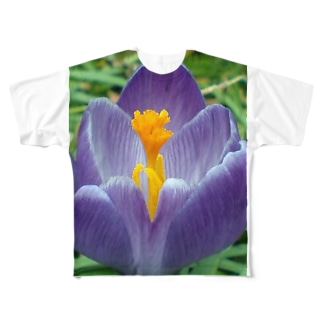 早春の朝 Full graphic T-shirts