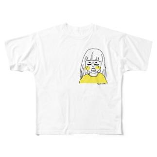 毎日泣いてる我が子 Full graphic T-shirts