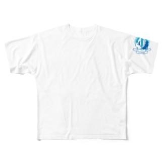 RENSAロゴ Tシャツ Full graphic T-shirts