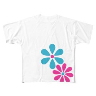デイジーロゴ フルグラフィックTシャツ