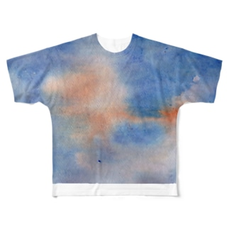 SUNSET Full graphic T-shirts