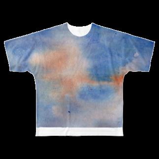 My designのSUNSET Full graphic T-shirts