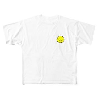 愛想笑い Full graphic T-shirts