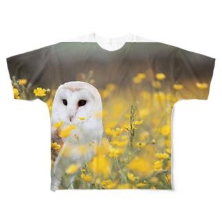 動物コレクション Full graphic T-shirts