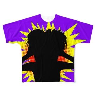 Panic Girl Full graphic T-shirts