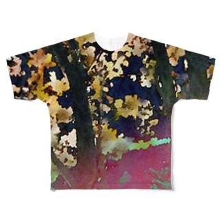 仰ぐ Full graphic T-shirts