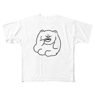 コーヒーブレイクま Full graphic T-shirts
