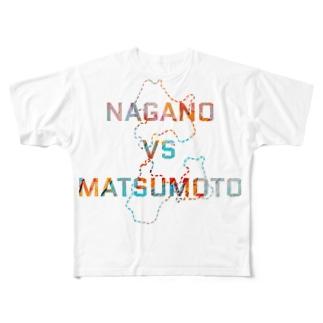 NAGANO  vs MATSUMOTO Full graphic T-shirts