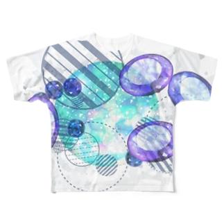 きらきら Full graphic T-shirts