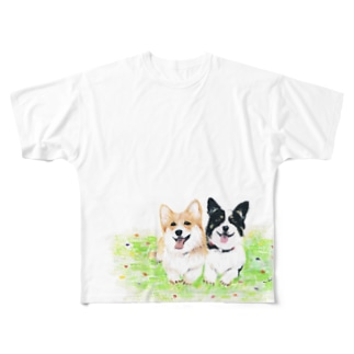 kaedeandkai Full graphic T-shirts