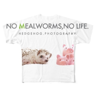 WITH PIGS! Full graphic T-shirts