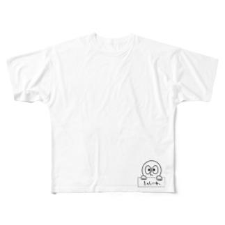 つるたくんたのしいね。 Full graphic T-shirts