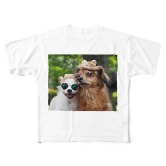 おのよーこじょんれのん Full graphic T-shirts