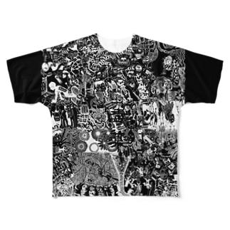 毒薬 Full graphic T-shirts