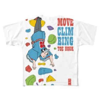 Toe Hook Full graphic T-shirts