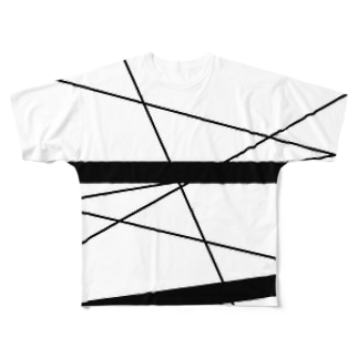 human グラフィック Full graphic T-shirts