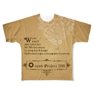 O-team  Steampunk Full graphic T-shirts