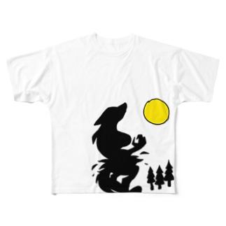 狼女 Full graphic T-shirts