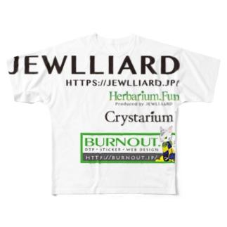 jewlliard logos Full graphic T-shirts