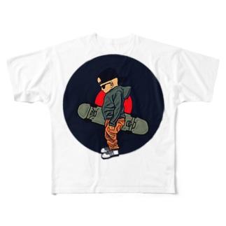 ベイビー フルグラフィックTシャツ
