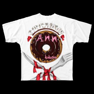 藤本あんの藤本あん Full graphic T-shirts