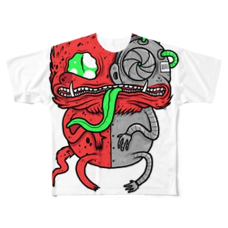Me-Chameleon Full graphic T-shirts