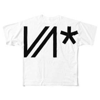 VIVID Neon*VN logo Full graphic T-shirts