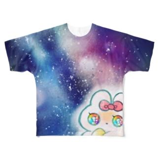 しゅーてぃんぐすたーめめたん Full graphic T-shirts