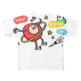 HAPPY BIRTHDAY Full graphic T-shirts