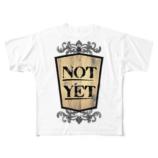 NOTYET WOOD_01 Full graphic T-shirts