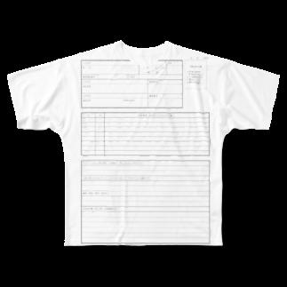 maの履歴書 Full graphic T-shirts