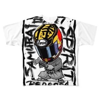 Samurai spirit Full graphic T-shirts