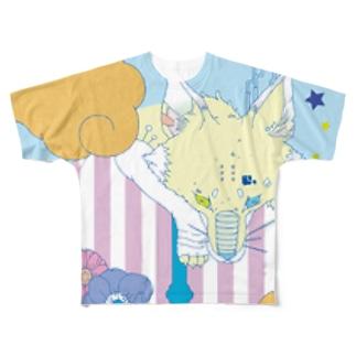 kitsune Full graphic T-shirts