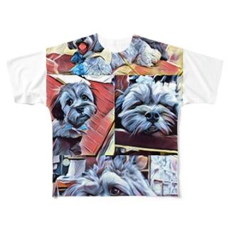 ペキ助 Full graphic T-shirts