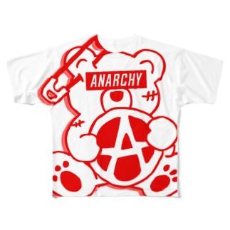 PLAY clothingのANARCHY BEAR R Full graphic T-shirts