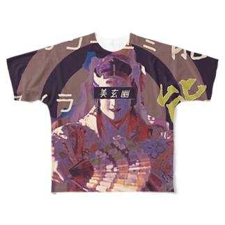 SASALILIの能音楽-能人生(Sabi) Full graphic T-shirts